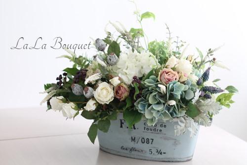 開店祝い花 ララブーケ アーティフィシャルフラワー