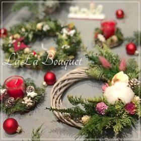 クリスマスリース プリザーブドフラワー