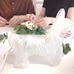 リングピロー ウェディング 結婚式 手作り結婚式